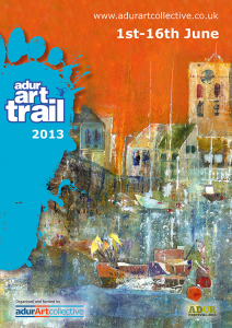 Adur Art Trail 2013