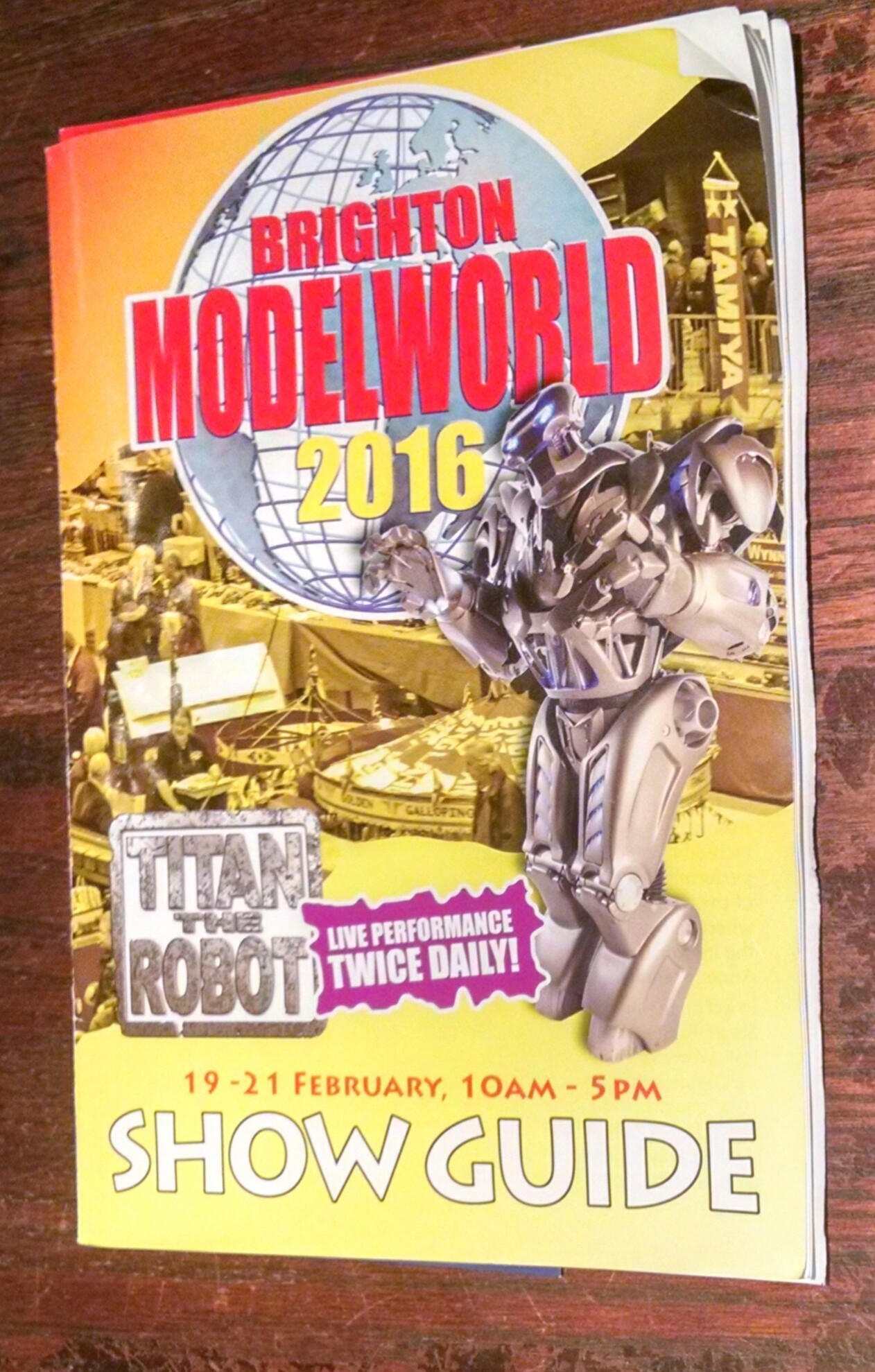 Brighton Modelworld 2016